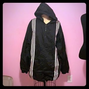 Adidas over sized rain jacket - can fit L or XL